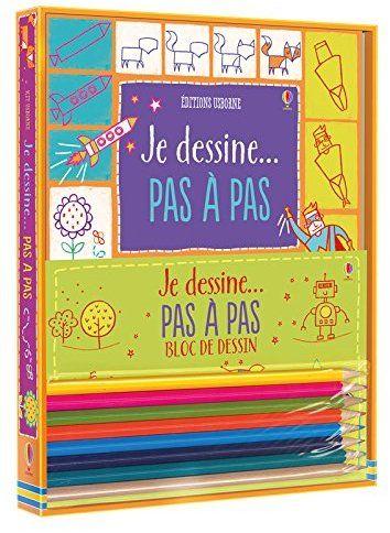 Amazonfr - Kit Je dessine pas à pas - Fiona Watt, Candice - Dessiner Maison D Gratuit