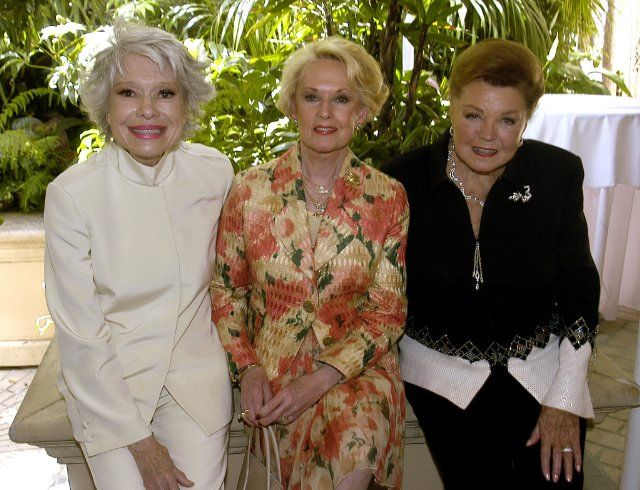 Tippi Hedren, Carol Channing and Esther Williams