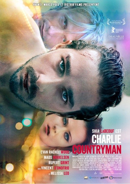Charlie Countryman Movie Poster 5 Film Thriller Film Evan Rachel Wood