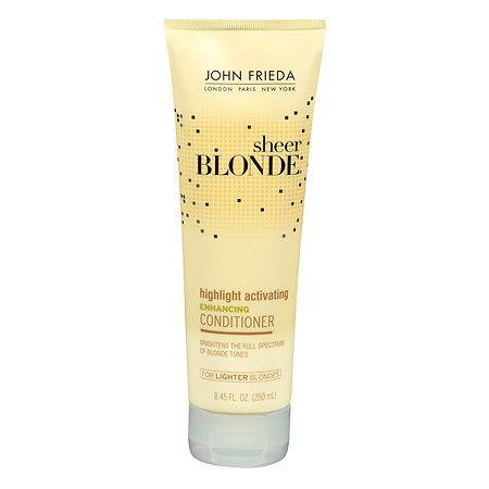 John Frieda Sheer Blonde Highlight Activating Enhancing Conditioner For Lighter Shades