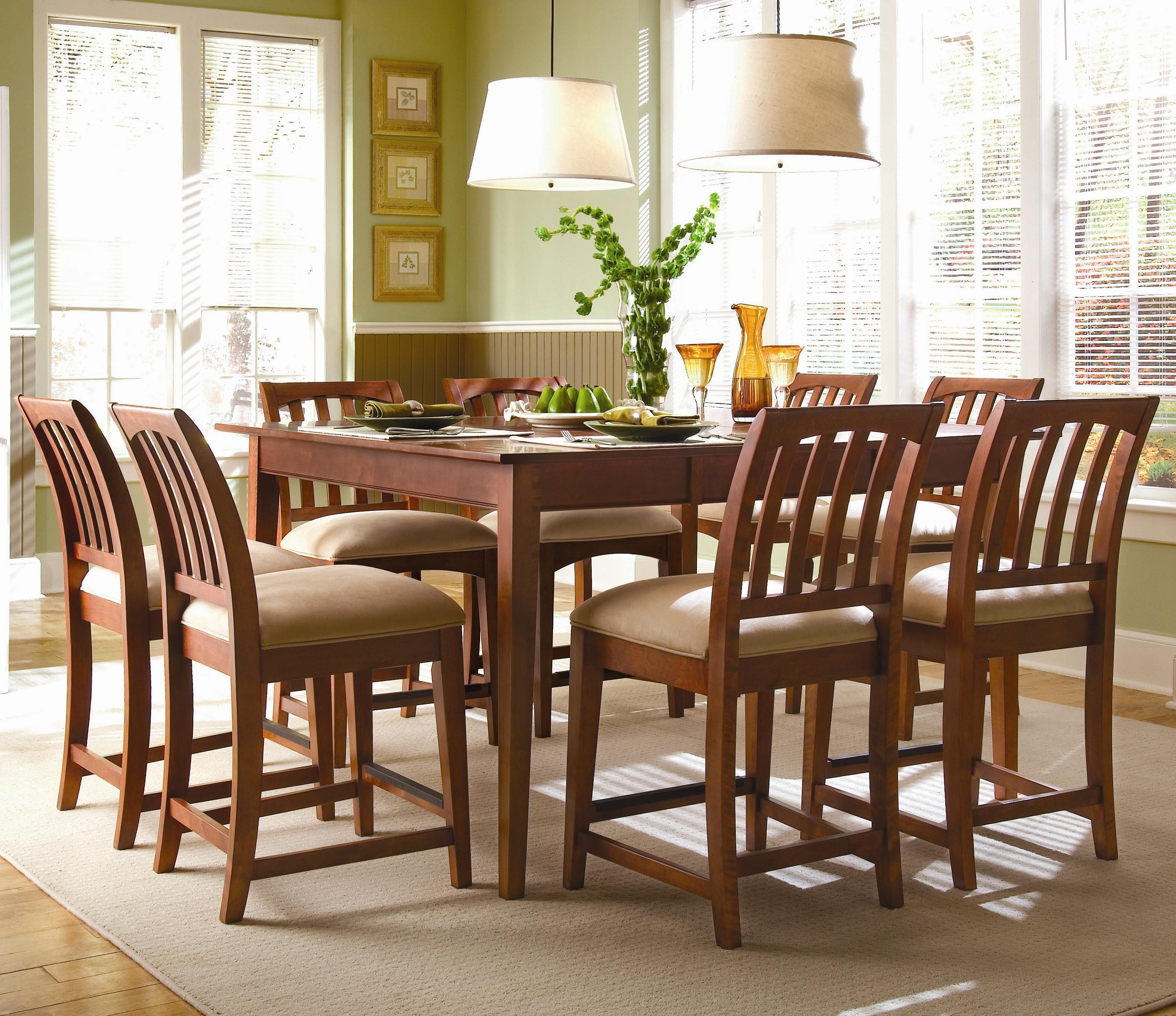Dining Room Furniture Rochester Ny: Gathering House 9-Piece Tall Dining Set By Kincaid