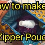 How to make a Zipper Pouch! Full sides on www.SueOVeryDesigns.com/blog  Special thanks to @babylocksewing @aurifilthread @cloverusa @schmetzneedles