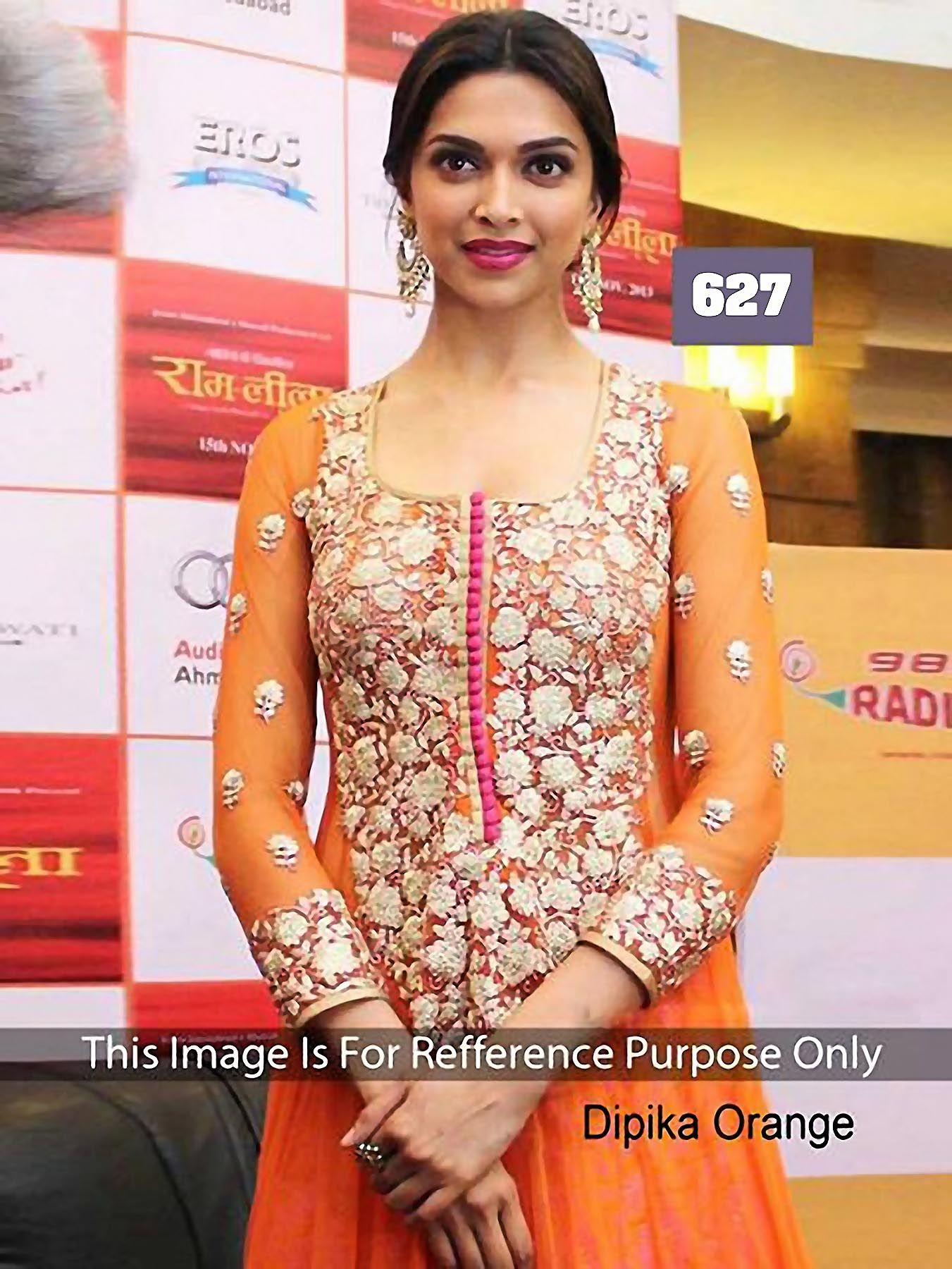 Buy Online Deepika Padukone Bollywood Anarkali Salwar suit ...