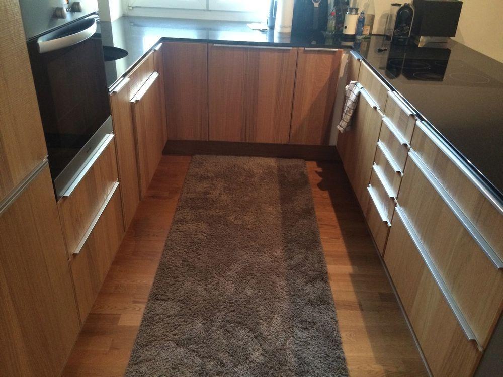 Einbauküche von IKEA NORJE Küche in EICHE 1 Jahr alt! NP 15000 - kche eiche
