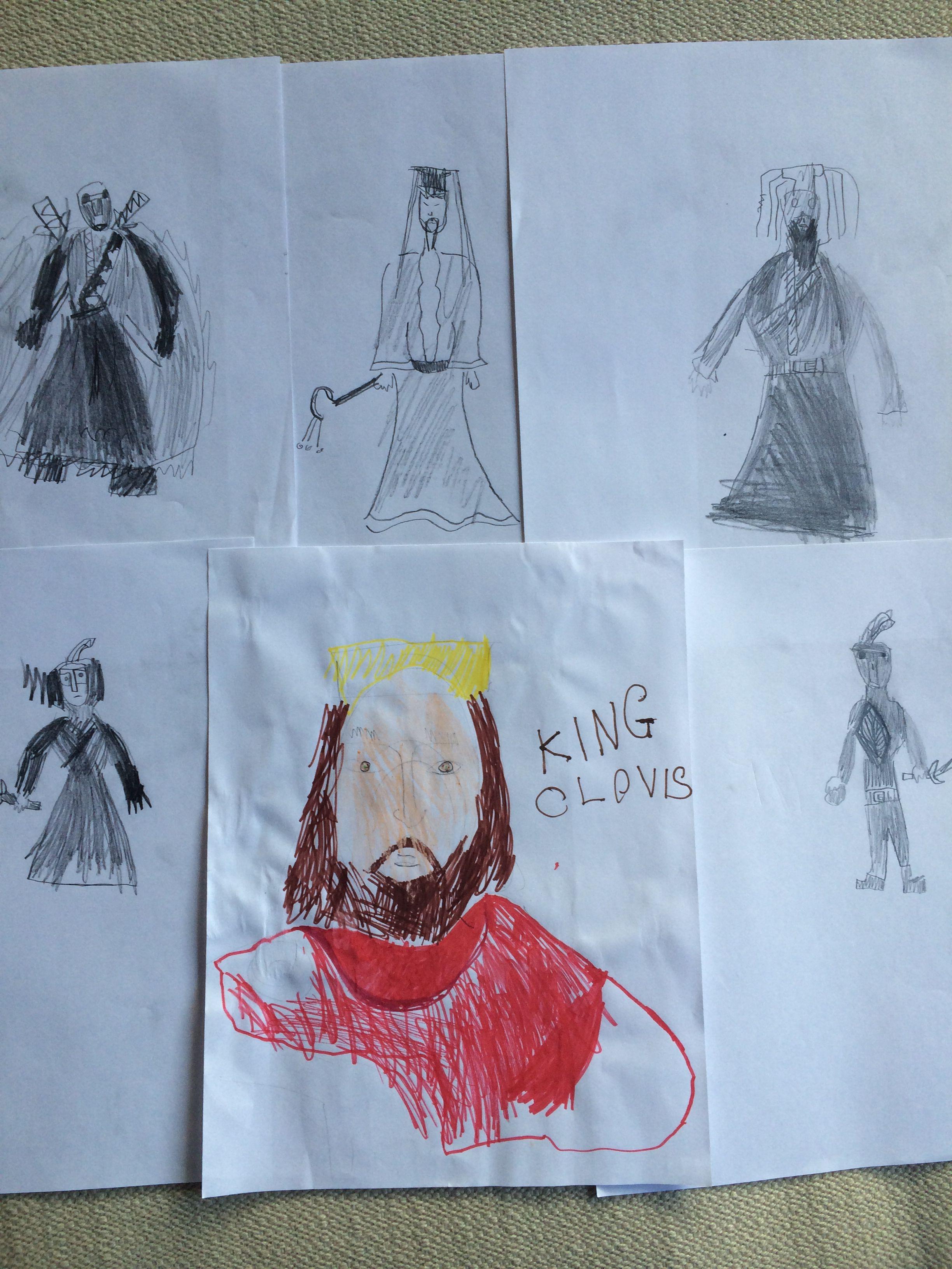 Kindergarten Historical Figures Sketches History With