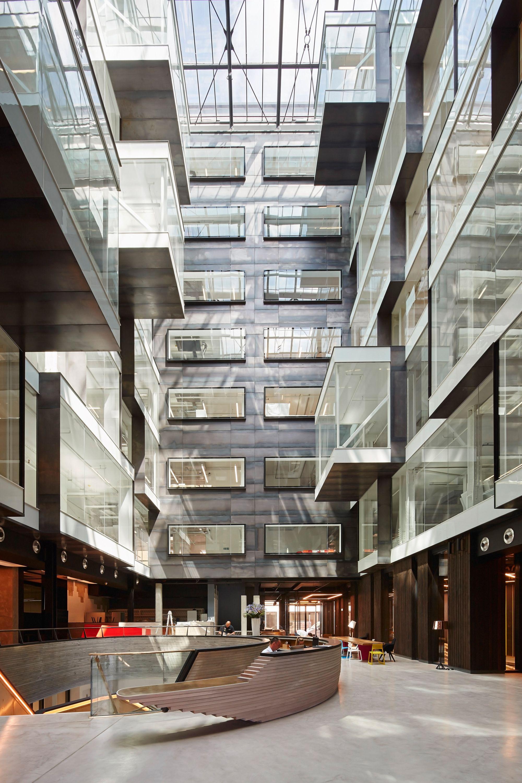 Unkonventionelles arbeiten workplace in london for Innenraumdesign studieren
