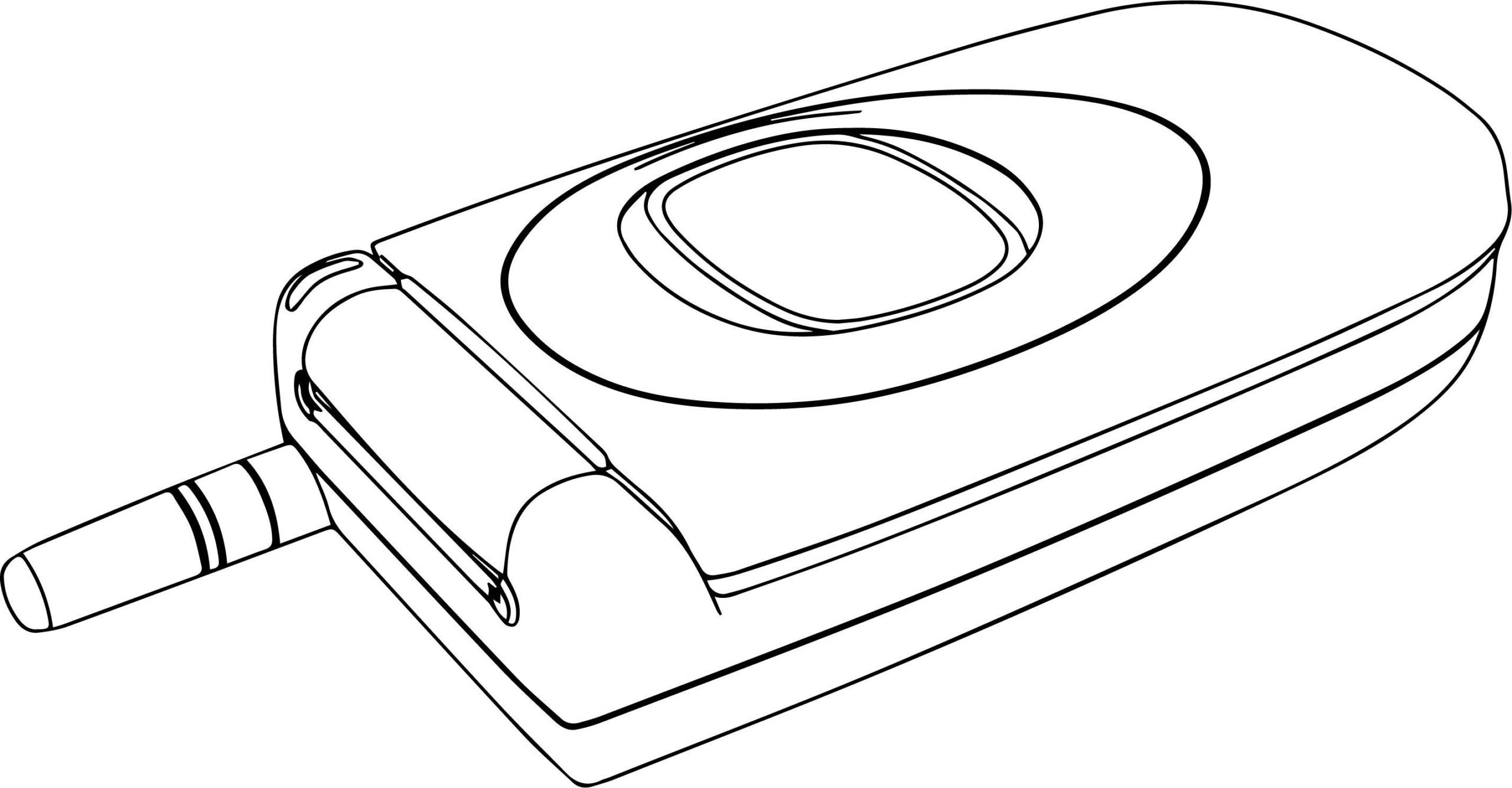 51 Coloring Page Of A Cell Phone