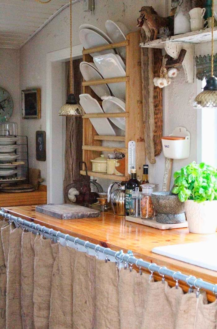 Yellow house on the beach: French and rustic | Modern ... on Rustic:mophcifcrpe= Cottage Kitchen Ideas  id=24306