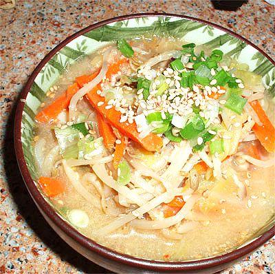 Vegan Miso Ramen (noodle soup) | Working Mom Cook Fusion