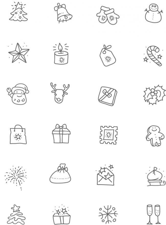 Tarjetas De Navidad Para Colorear E Imprimir Alquimia Simbolos