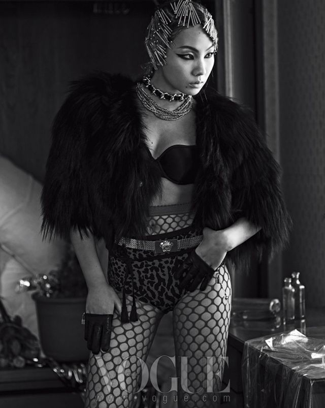 Pleasing More Of 2Ne1S Cl In The July 2013 Issue Of Vogue Korea Gmtry Best Dining Table And Chair Ideas Images Gmtryco