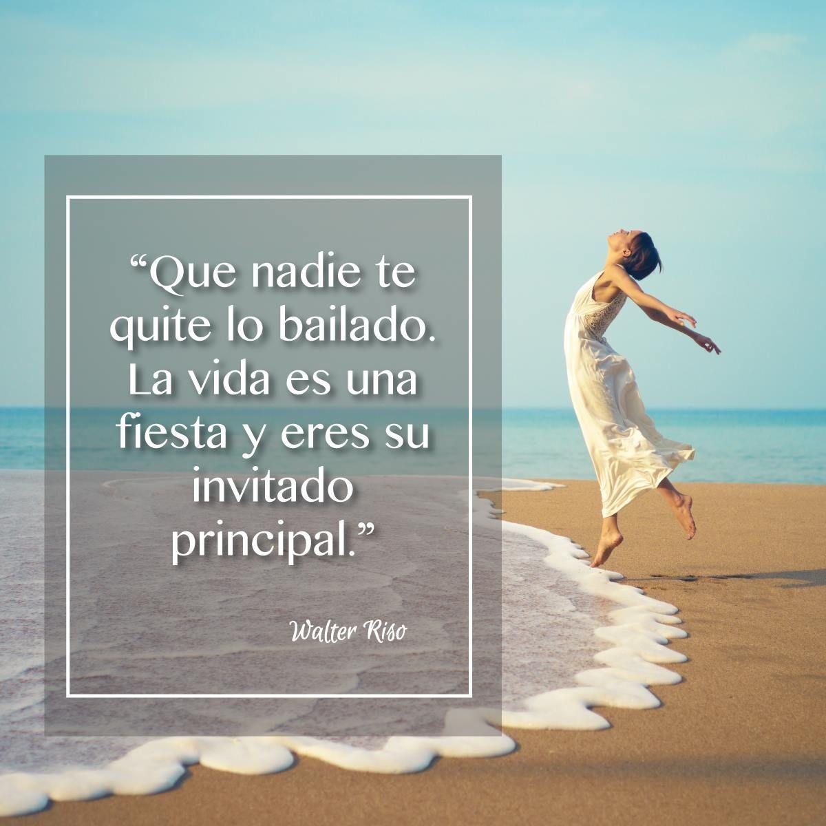 Ser Feliz Es Una Actitud Que Sólo Depende De Ti Walter Riso Feliz Vida