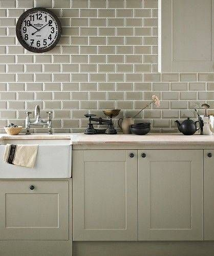 10 Sage Green Decorating Ideas That Feel Very 2020 Kitchen Remodel Country Kitchen Kitchen Tiles