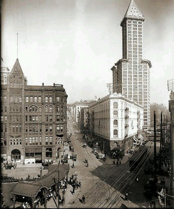 Seattle In 1917 Historic Seattle Pinterest Seattle