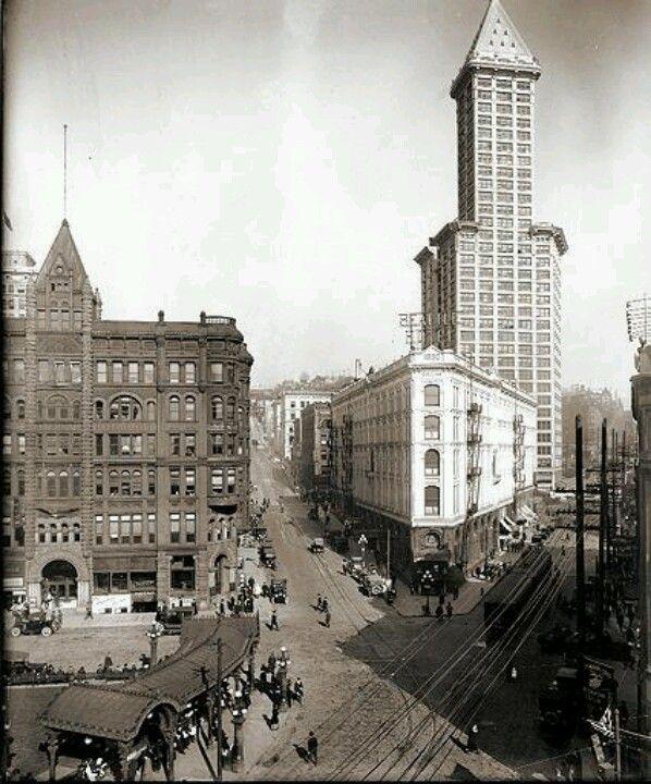 Seattle In 1917 Historic Seattle Pinterest Seattle