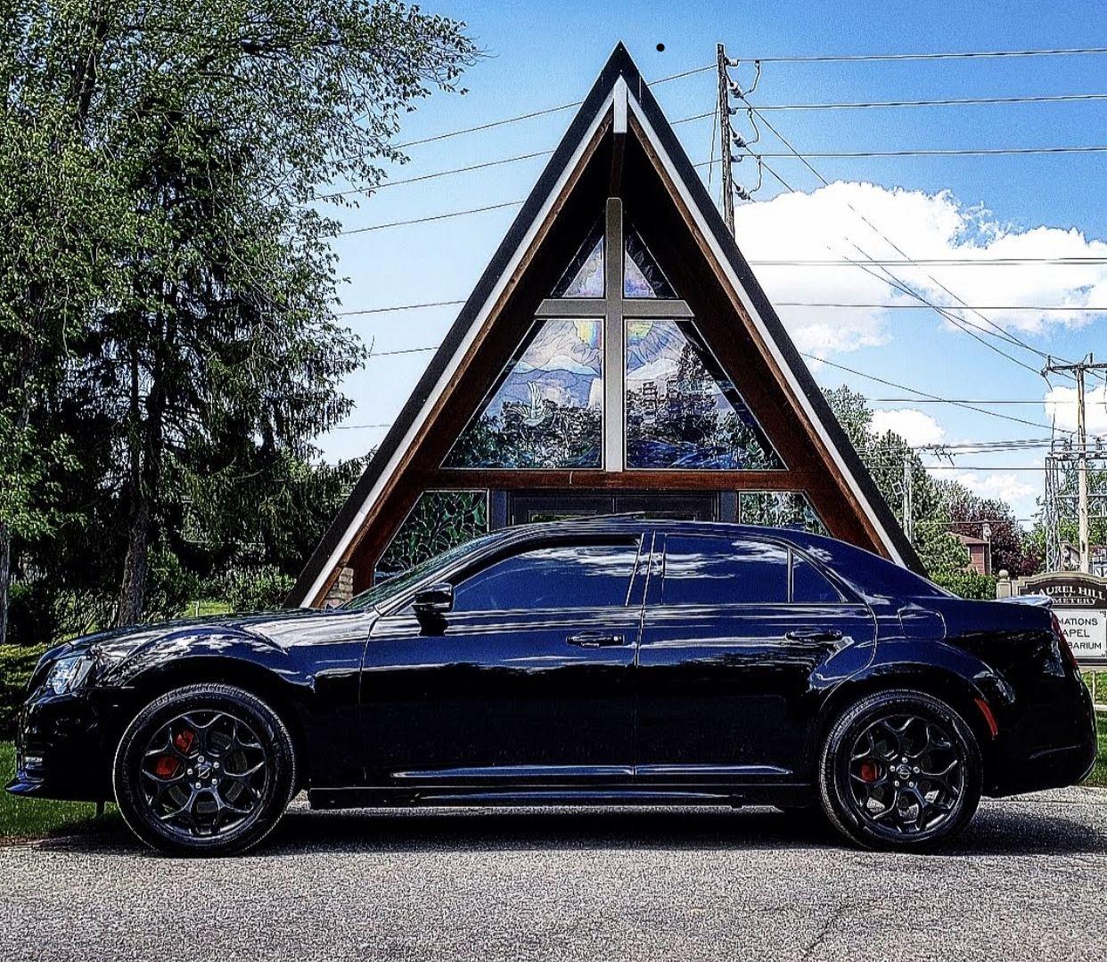Matte Black Chrysler 300c Hemi Srt 8 Chrysler 300c Chrysler