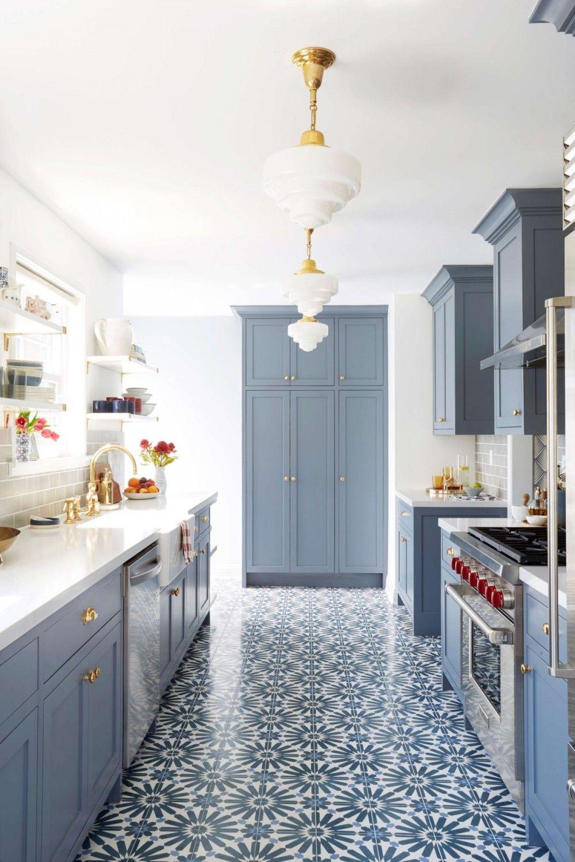 45 Unique Checkerboard Kitchen Floor Ideas, Retro Tile ...
