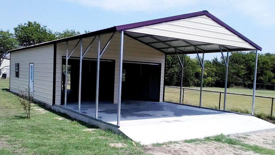 Pin on Metal garage buildings