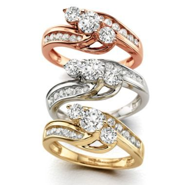 Love Lives Forever™ 1 CT. T.W. Diamond 10K Gold Ring  found at @JCPenney
