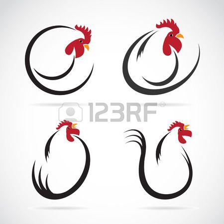 Coq mignon dessin anim pouce vers le haut cocorico - Dessin de poulet ...