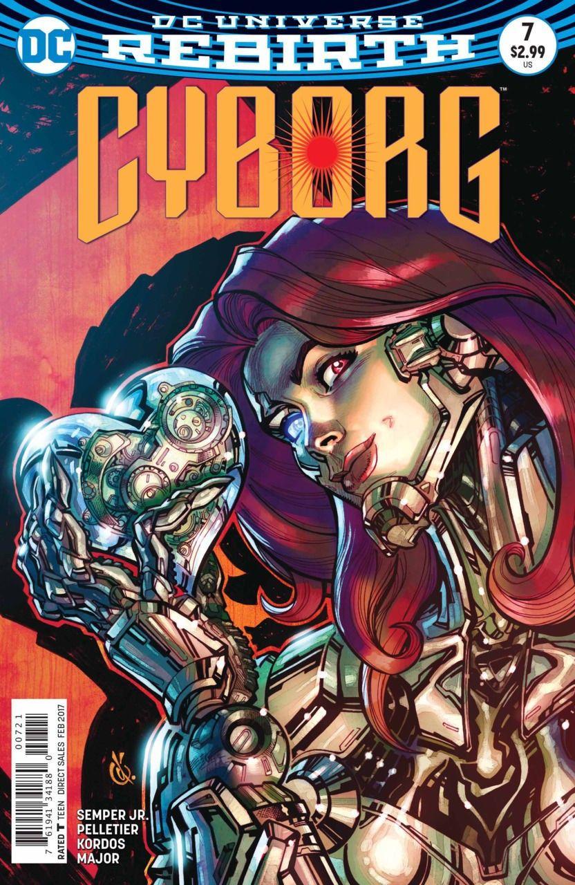 Cyborg (2016) #7 VF/NM Carlos D'Anda DC Universe Rebirth