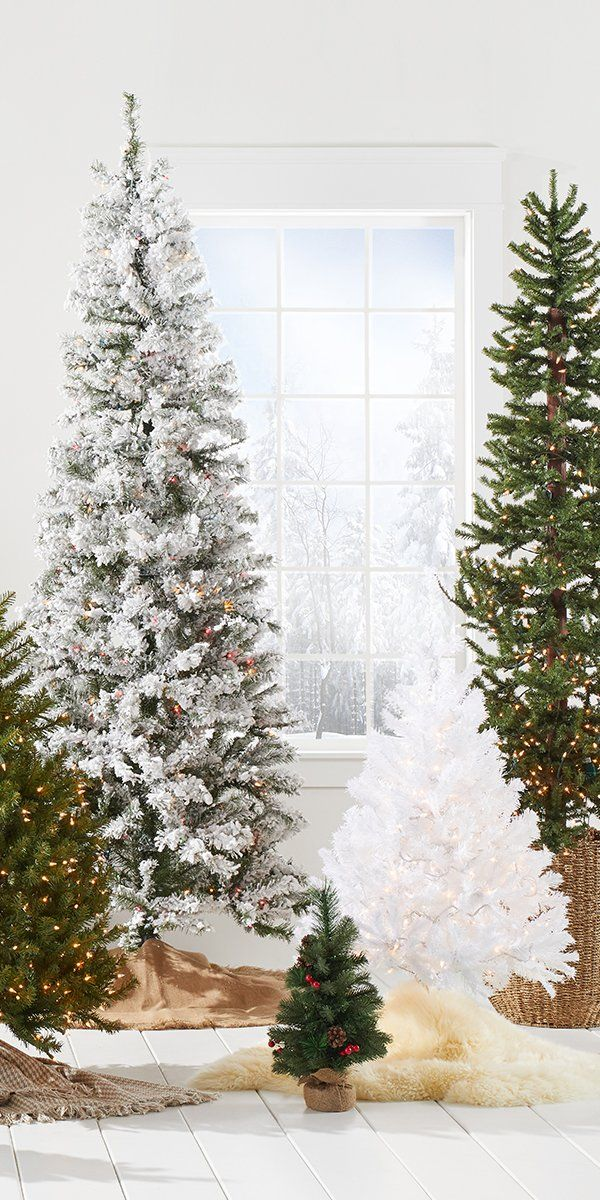 Brighten your holiday home with the host of bright and merry Christmas trees from Overstock's holiday shop, where you'll find great deals on high-quality holiday home goods along with Free Shipping on EVERYTHING!* Don't let the merry season pass you by, get your home holiday-ready with help from Overstock's massive holiday decor collection. #Christmastree #homedecor #holiday #overstock