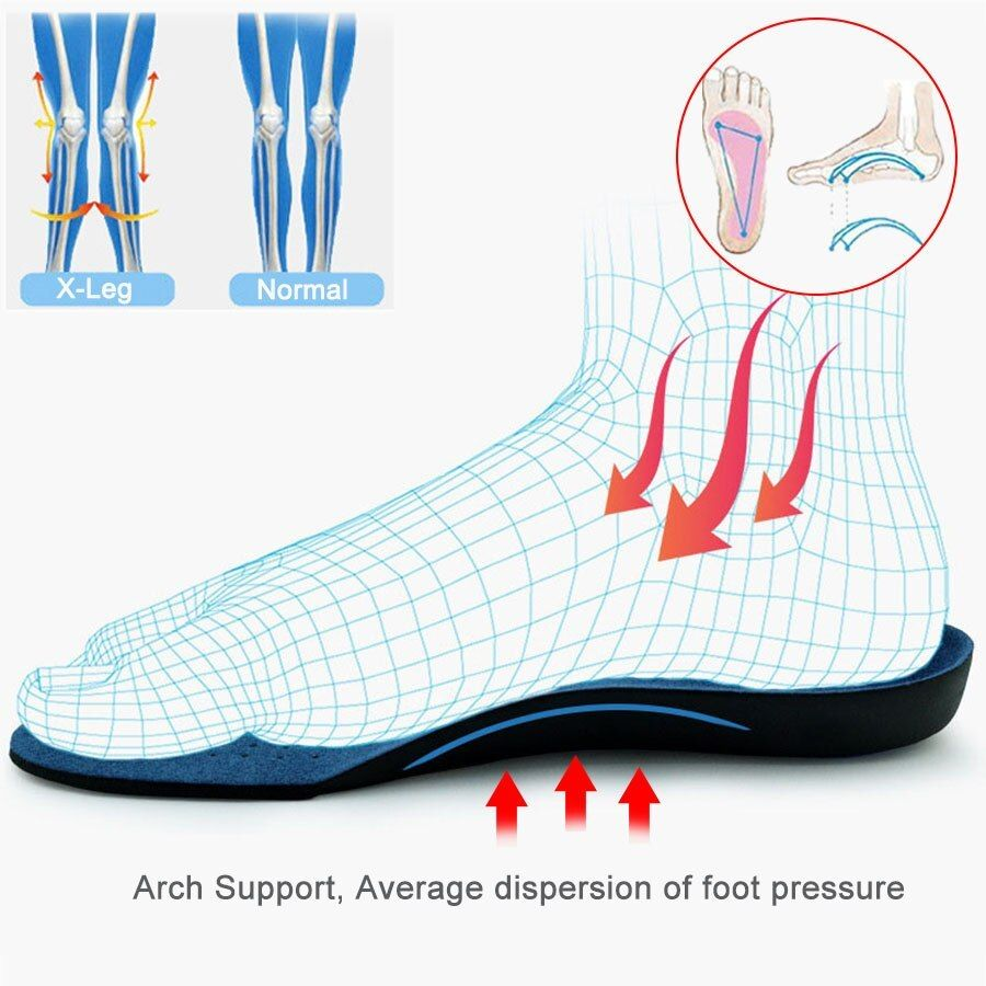 Orthopedic Insoles for Shoes sole Arch