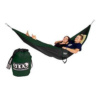 This is how the Girl and I look when we cuddle - Eno Nest DoubleNest Hammock