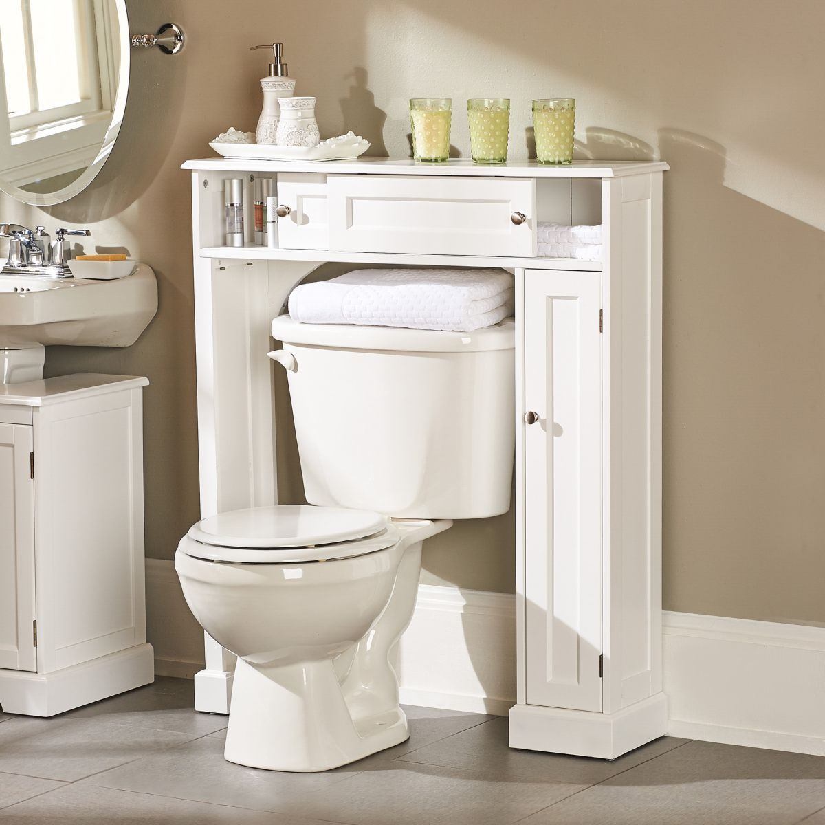 Weatherby Bathroom Over the Toilet Storage Cabinet | decorating ...