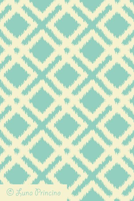 ikat geometric pattern by luna princino seamless vector texture is