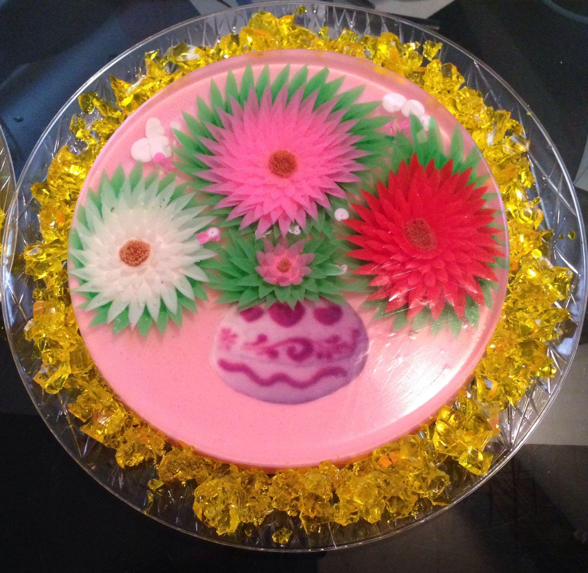 3D gelatin