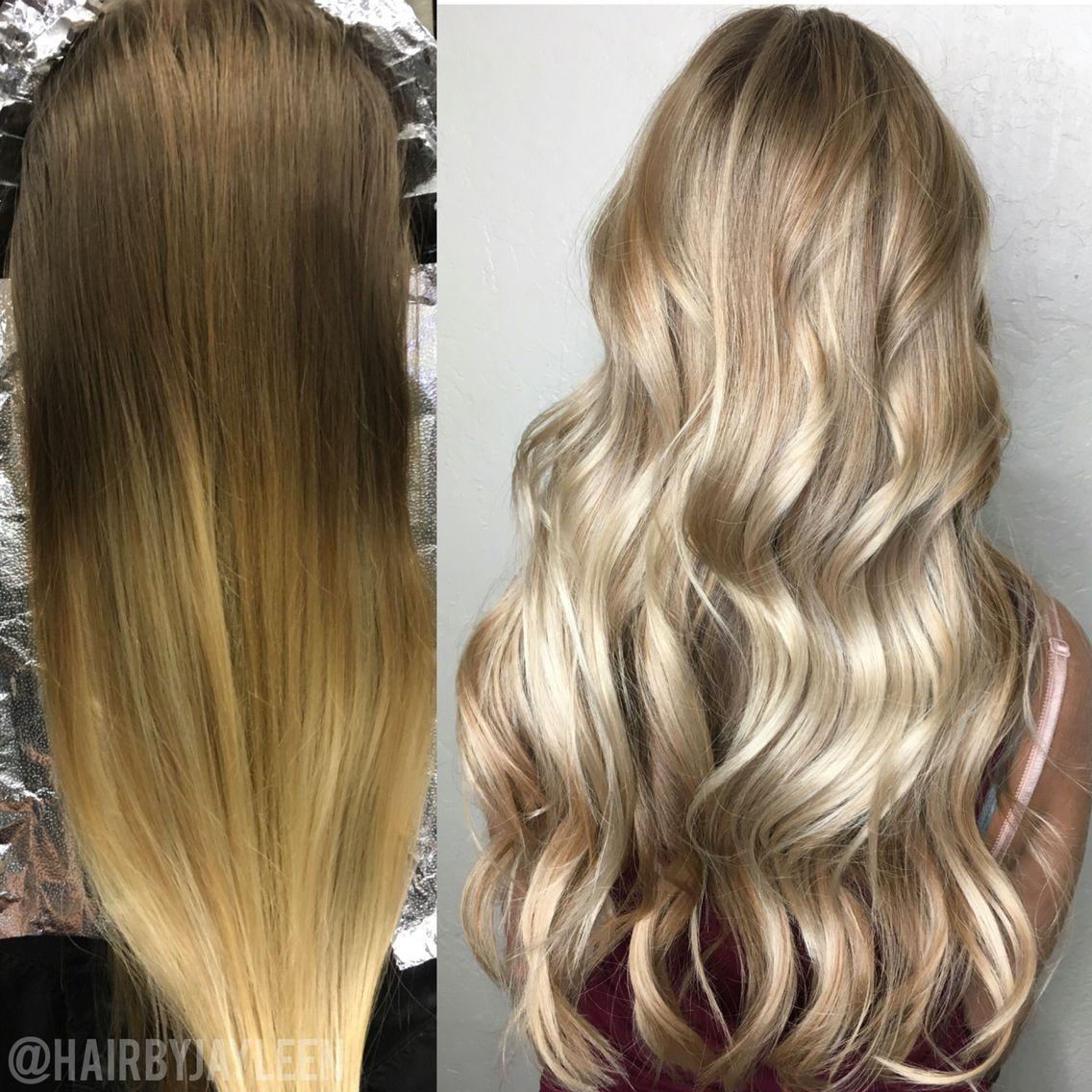 Balayage Blonde Hair Light Blonde Hair Highlights Hair Painting