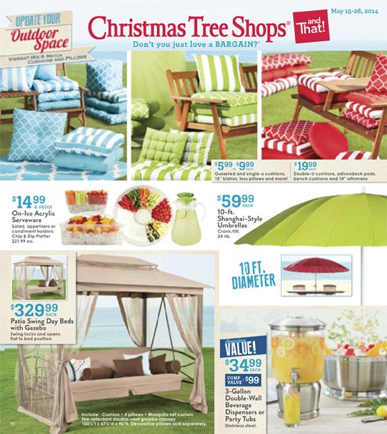 Our Latest Ads Christmas Tree Shops Andthat Christmas Tree Shop Discount Home Decor Outdoor Christmas Tree