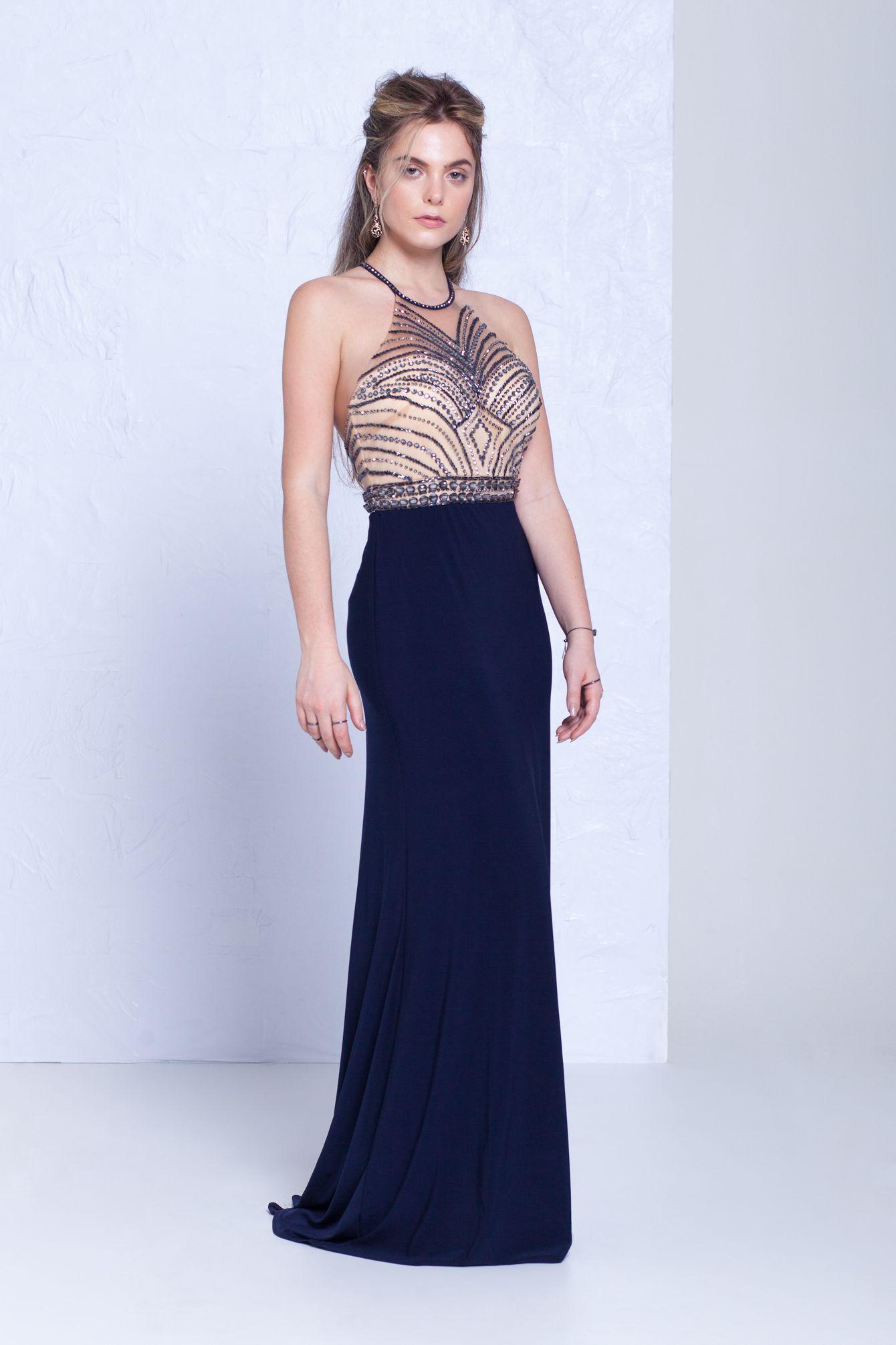 Jenny Vestidos Vestidos Longos Azuis E Aluguel De Vestido