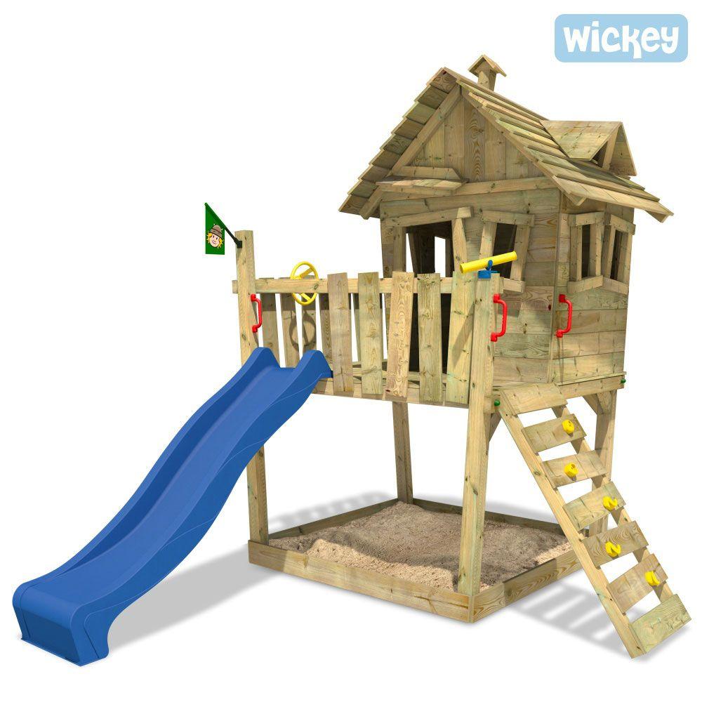 Baumhaus Wickey Funny Farm Ohne Schaukel Spielturm Mit Vielen Spielmoglichkeiten Spielturm Spielturm Garten Wickey Spielturm