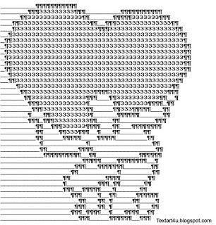 Cool Ascii Text Art 4 U Romantic Art