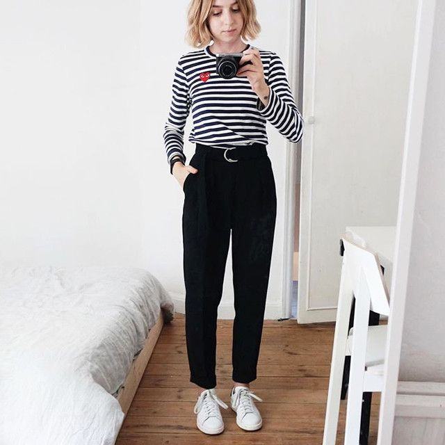 e41fa71d7491 Where To Buy All The Stuff You See On Instagram  Commes Des Garcons PLAY  Stripe Top