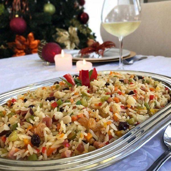 Arroz A Grega De Natal Receita Receitas Arroz A Grega Arroz