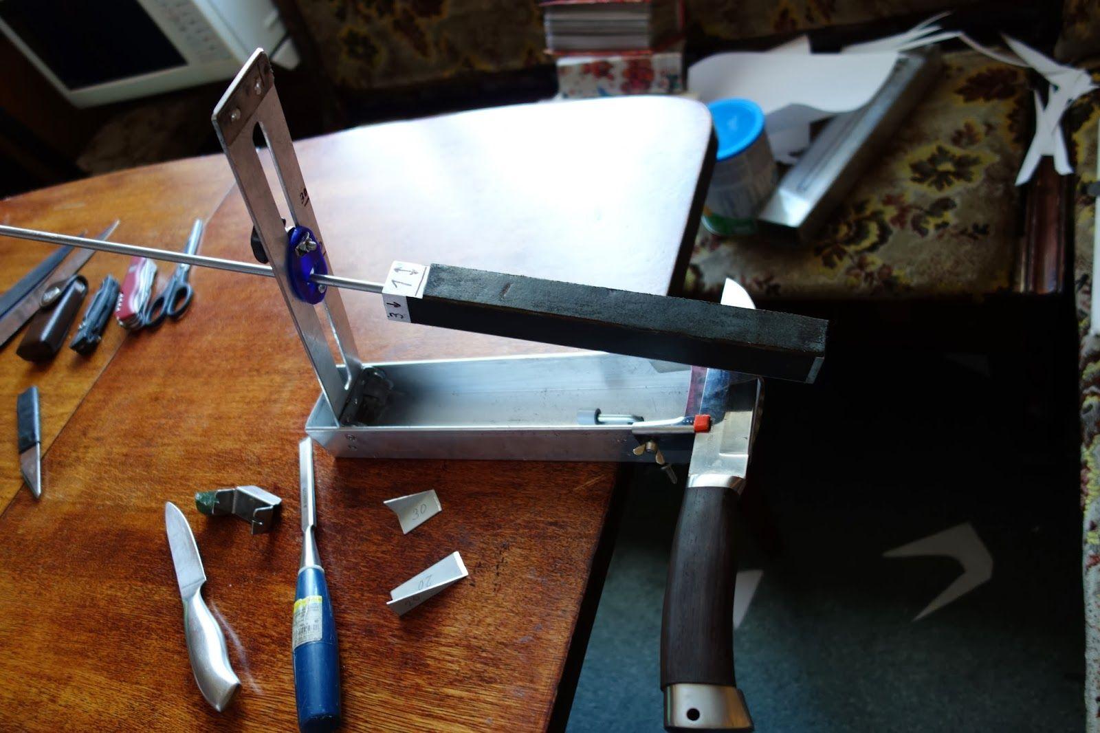 отличается фото самодельных точилок для ножей можете найти