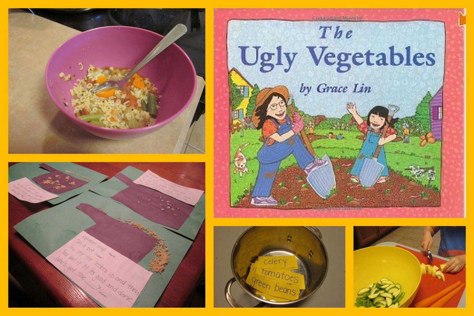 Little Hands That Cook With Books Alphabet Soup