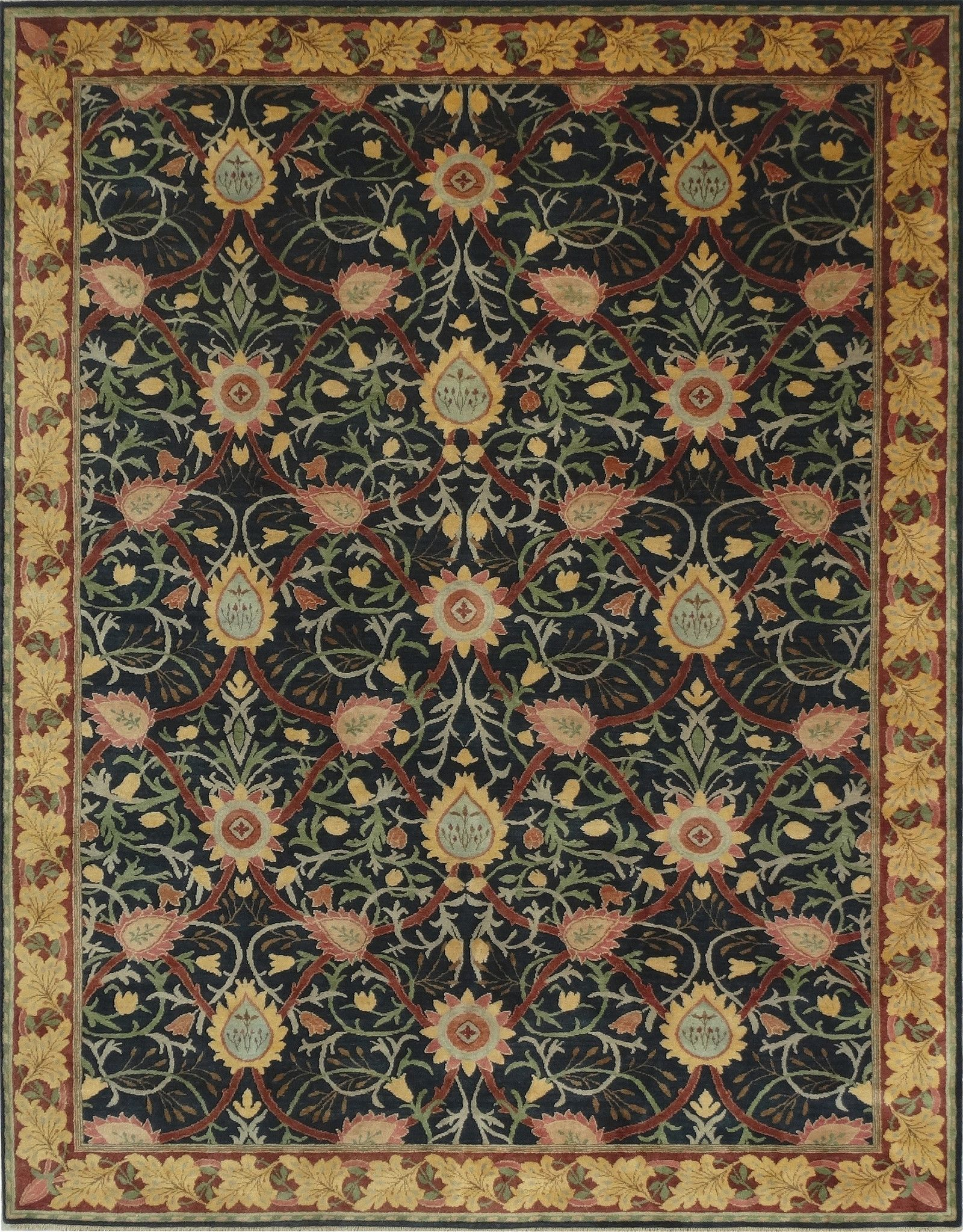 Arts and crafts movement design - The Merton Design By William Morris Is An Arts And Crafts Movement Design In Authentic Period Colors Perfect In Victorian Interiors And For Those Who