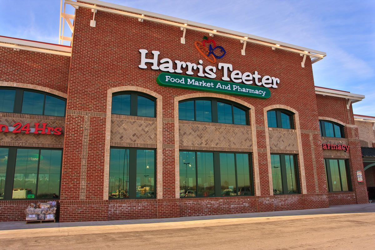 Harris Teeter in the Maple Lawn community. Renting a