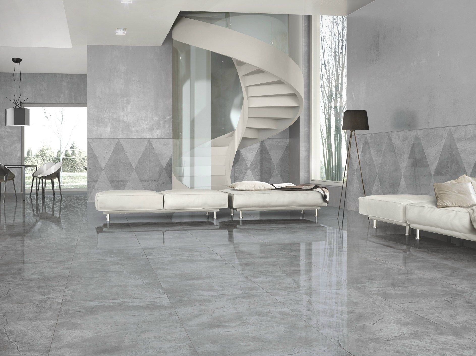 Porcelain stoneware wallfloor tiles with marble effect marmoker porcelain stoneware wallfloor tiles with marble effect marmoker by casalgrande padana doublecrazyfo Choice Image