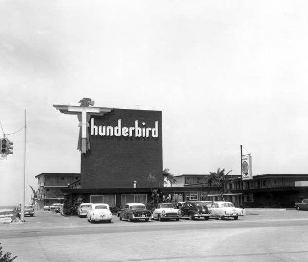 thunderbird motel treasure island florida via state. Black Bedroom Furniture Sets. Home Design Ideas