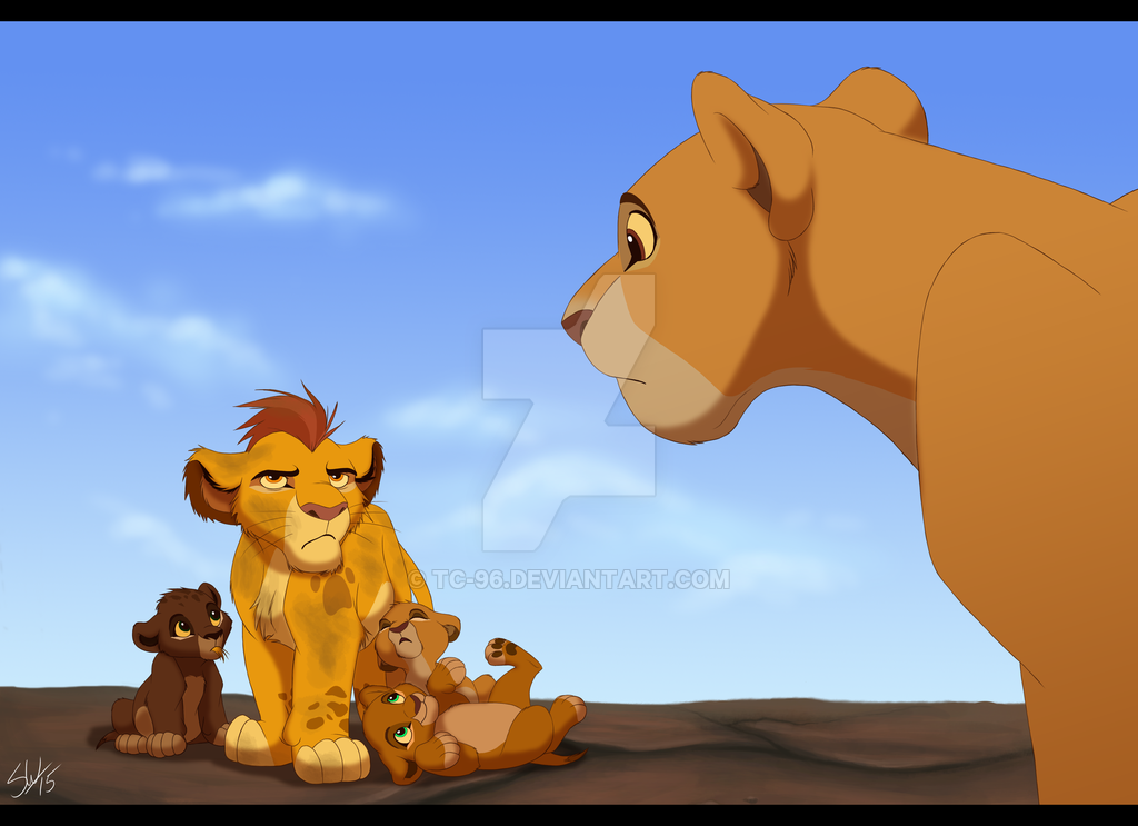 I'm not saying I believe Simba and Nala got all these cubs ...