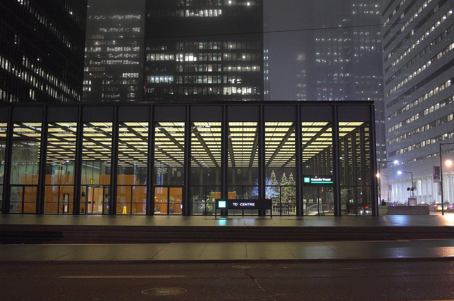 TD Centre banking pavillion 15464613453 - Toronto-Dominion