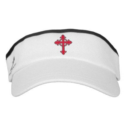 d418faeeea5 Christian cross visor - accessories accessory gift idea stylish unique  custom