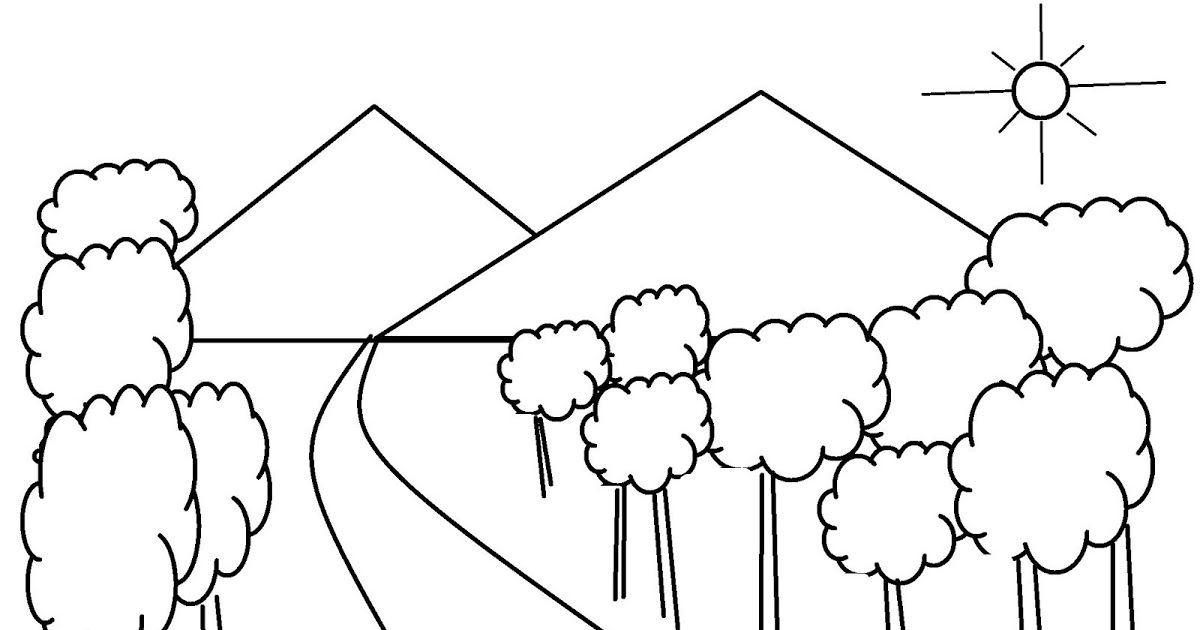 33 Gambar Pemandangan Gunung Anak Kecil Gambar Ini Sepertinya Adalah Gambar Untuk Anak Anak Kebun Danau Gunung Hingga Air T Di 2020 Gambar Pemandangan Buku Mewarnai