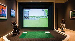 Golf simulators in Marbella www.marbellahomecinemas.com