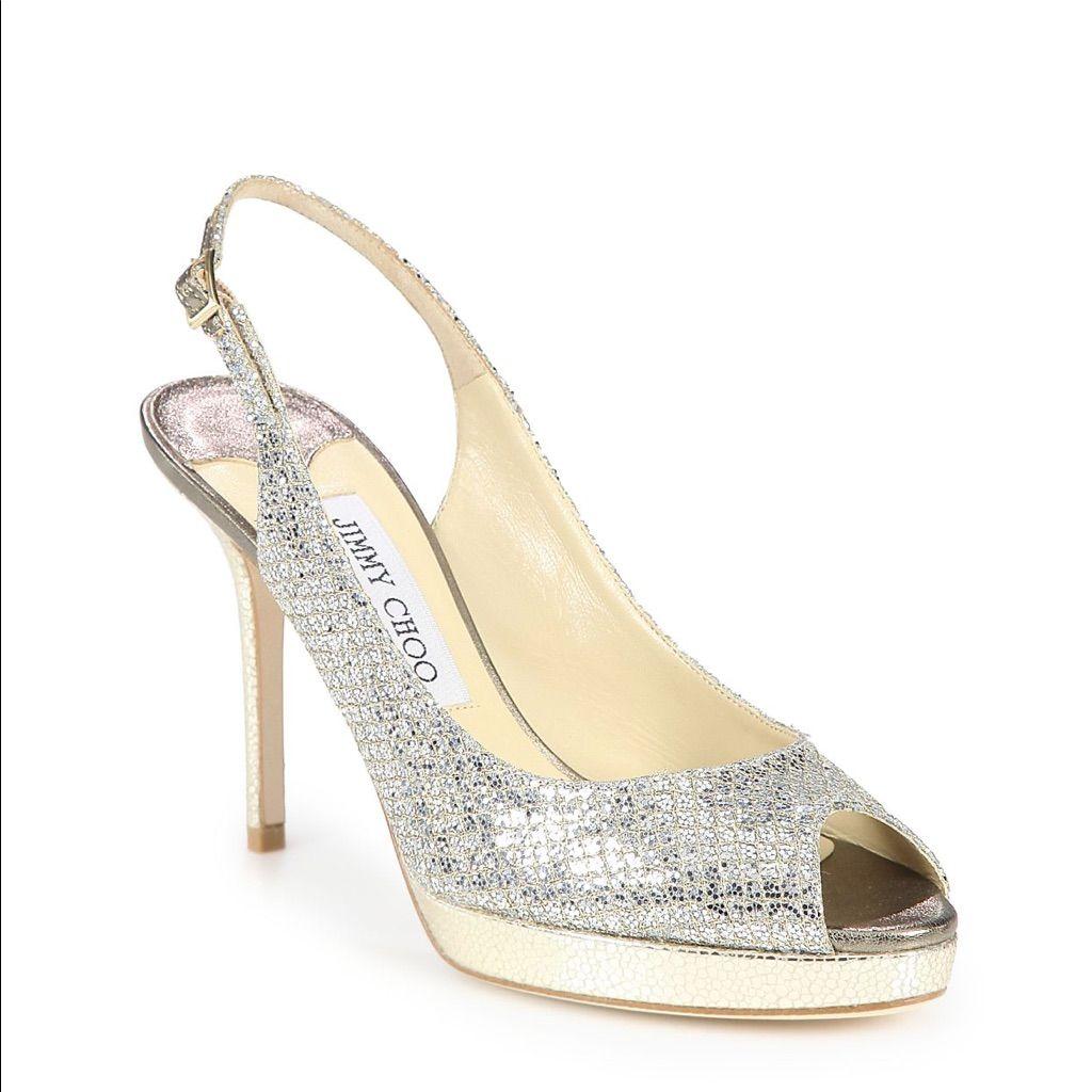 Bridal Shoes Saks: Jimmy Choo Nova Heels- Brand New